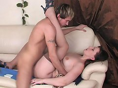 Silvia&Rolf red hot mature action