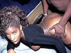 Hot Ass Ebony Vanessa Blue