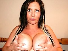 Big titted mature nympho getting very naughty