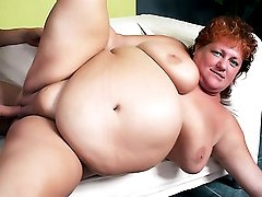 Tapping Hot Mature BBW Sherry