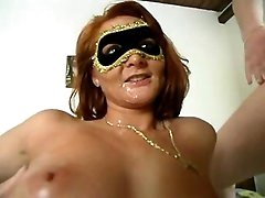 Fetish milf getting spraying facial