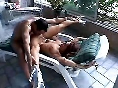 Hot milf n hungry guy play oral sex