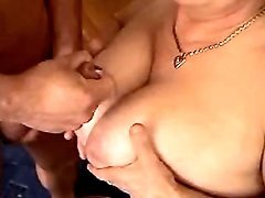 Retired secretary enjoys young cock