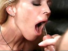 Hot milf fucking and getting facial