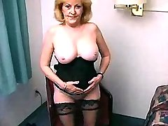 Still hot sex teacher of 75 yo gives guy a lesson