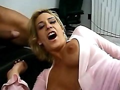 Milf teases n gets fingers in ass