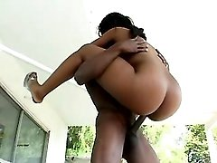 Fresh black mature model filmed in porn movies