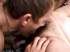 Older couple enjoy oral