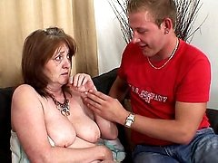 Wife catches him fucking mom in law