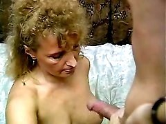 Spoiled granny gets cum after fuck