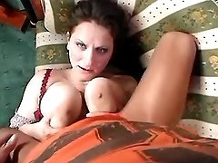 Chesty mature sucks and titsfucks